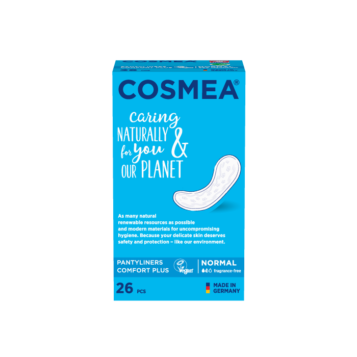 Cosmea pantyliners, large, unscented.