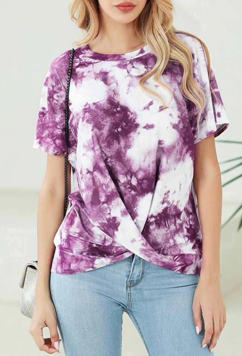 Tee Shirt Tie And Dye
