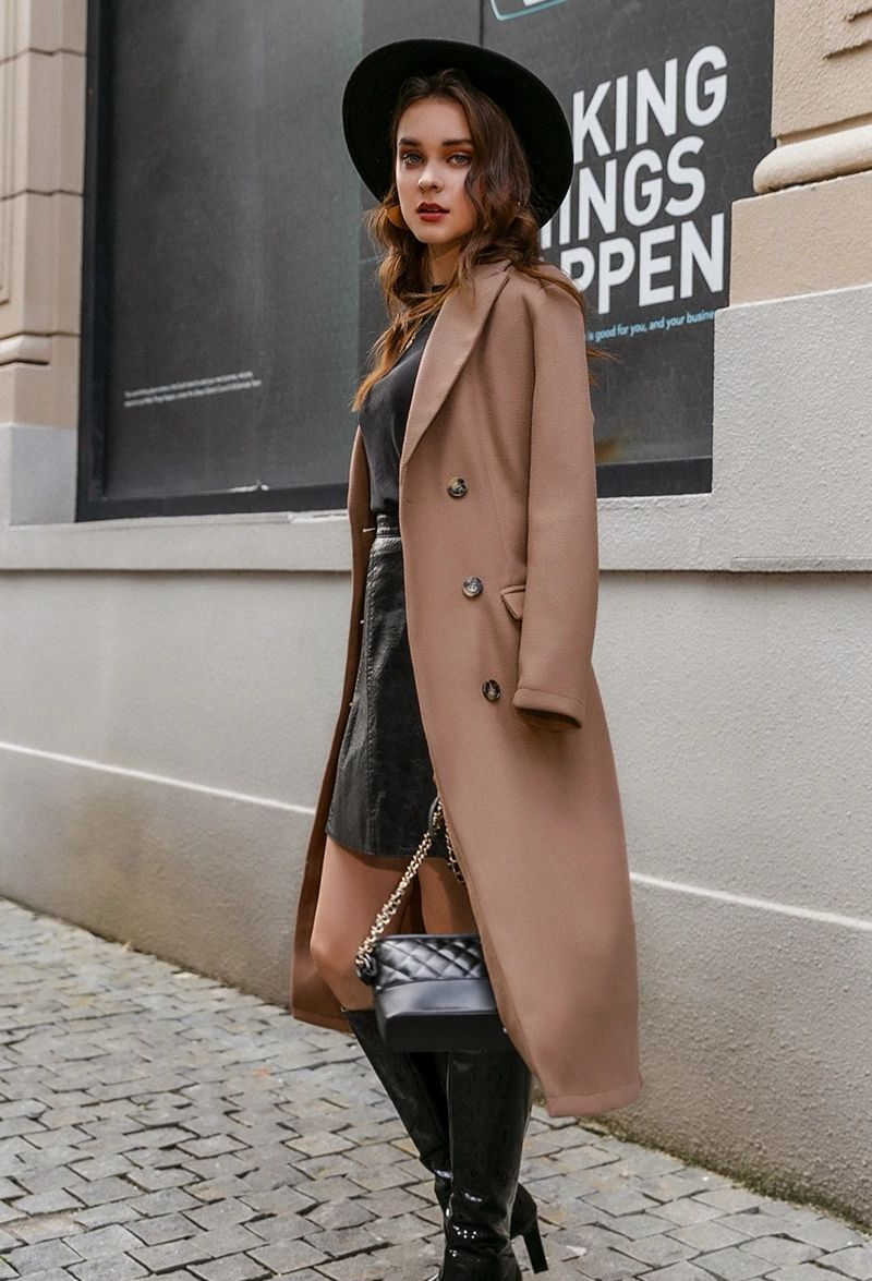 Trench Femme Hiver
