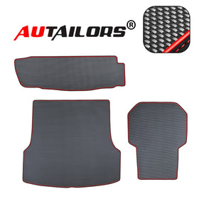 2012 2013 2014 2015 Tesla Model S Trunk Set Floor Mats