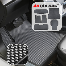 Tesla Model S 6PCS Floor Mats 2012 2013 2014 2015