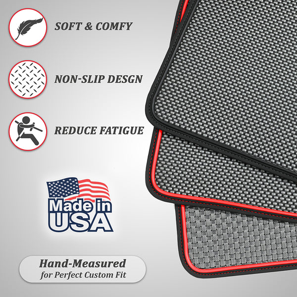 2020 2021 Tesla Model Y 6pcs Trunk Set Split Floor Mats