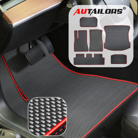 2021 Tesla Model 3 6PCS Floor Mats