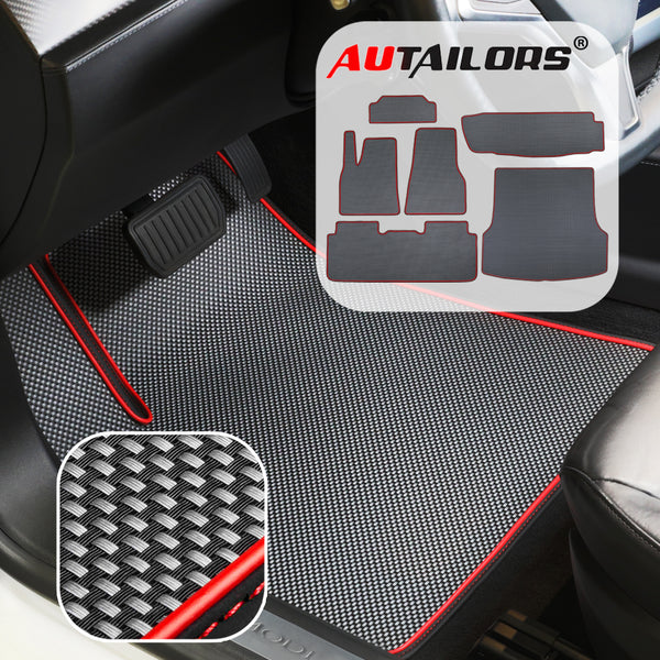 Tesla Model S 6PCS Floor Mats 2016 2017 2018 2019