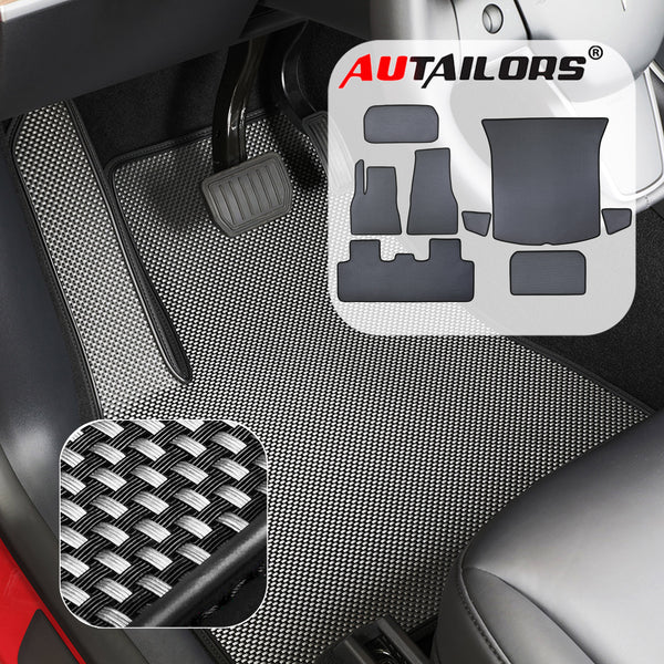2021 5-Seat Tesla Model Y 8PCS Floor Mats