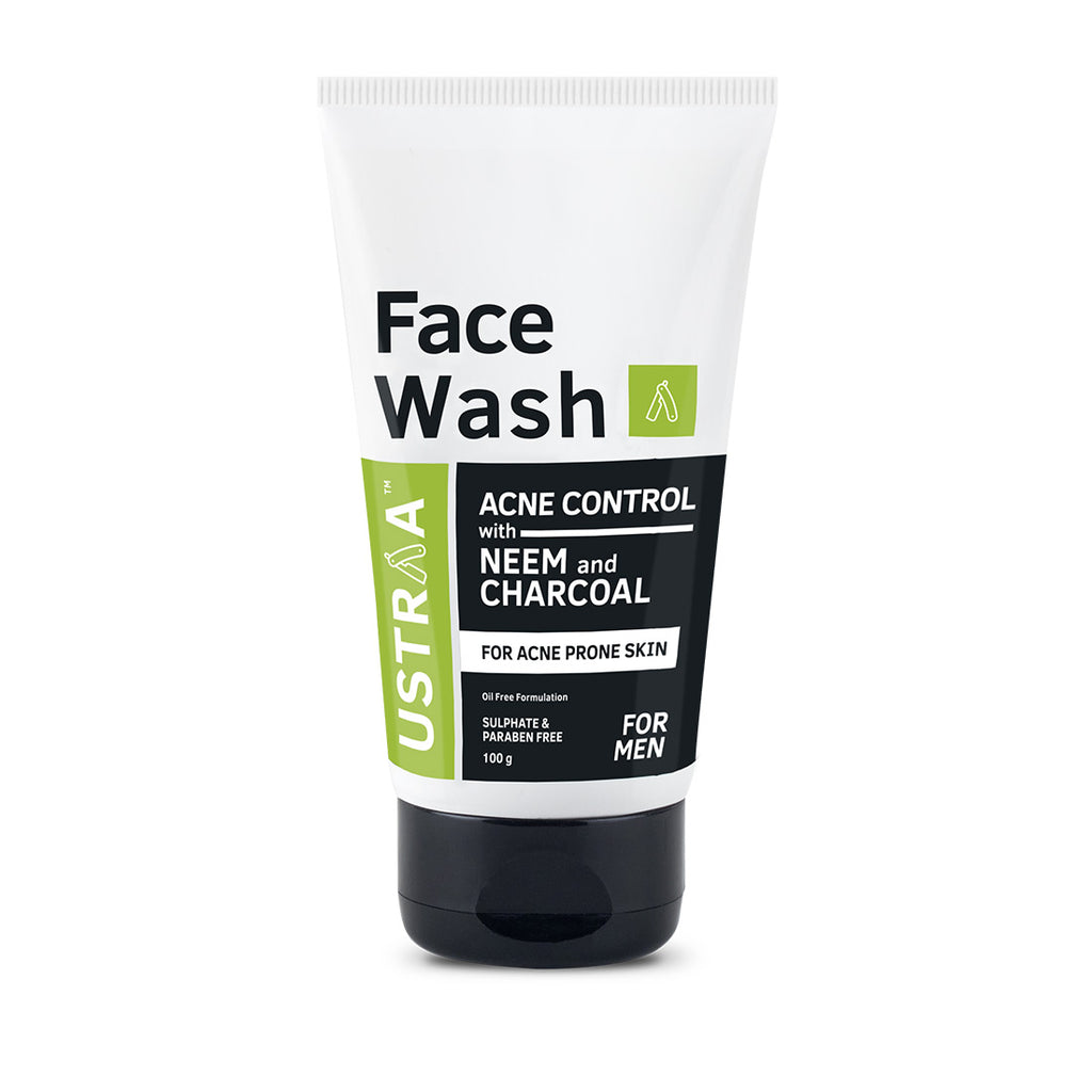 Face Wash Acne Control With Neem And Charcoal