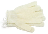 Exfoliating Nylon Body Gloves-Beige