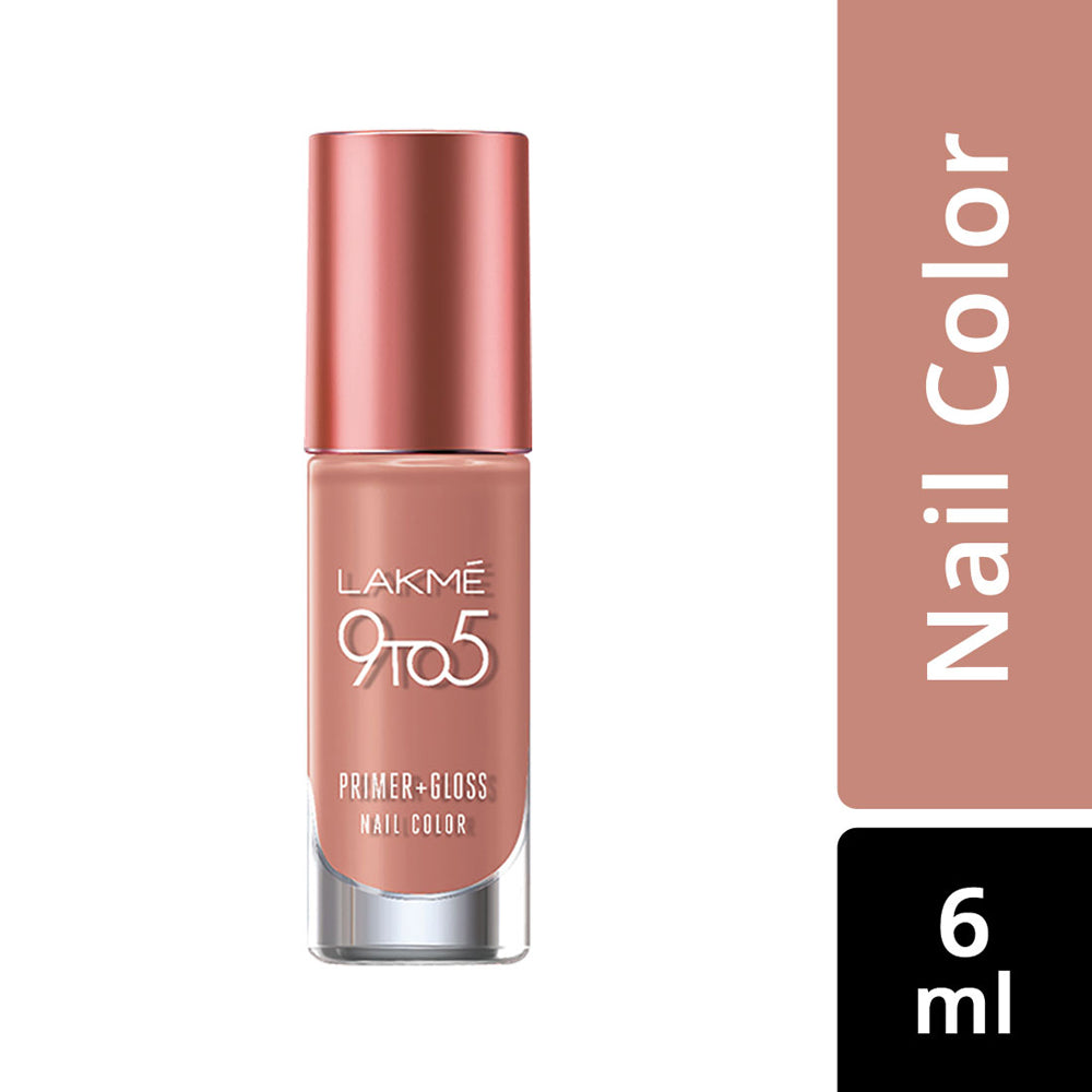 9 to 5 Primer + Gloss Nail Color Caramel Case 6ml