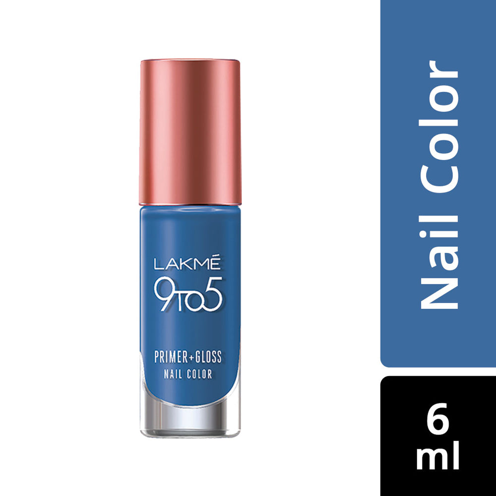 9 to 5 Primer + Gloss Nail Color Blue Scape 6ml