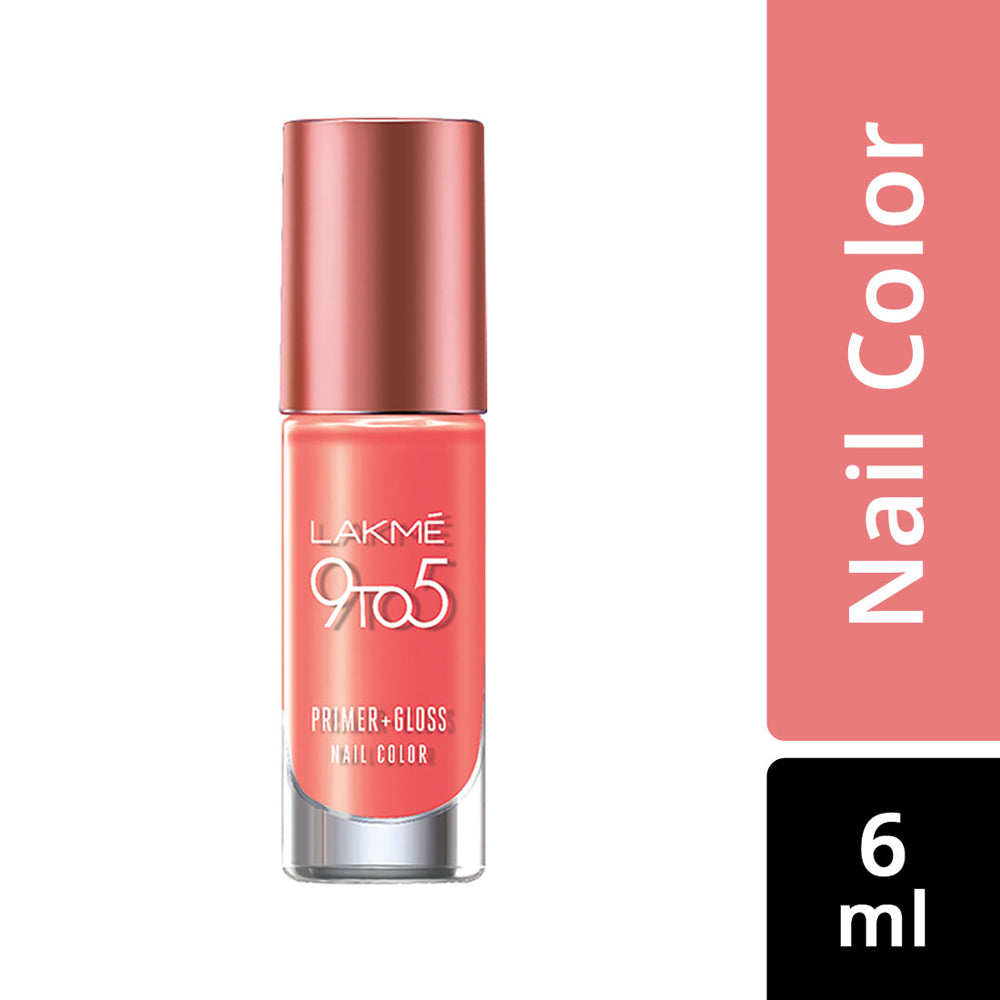 9 to 5 Primer + Gloss Nail Color Top Coat 6ml