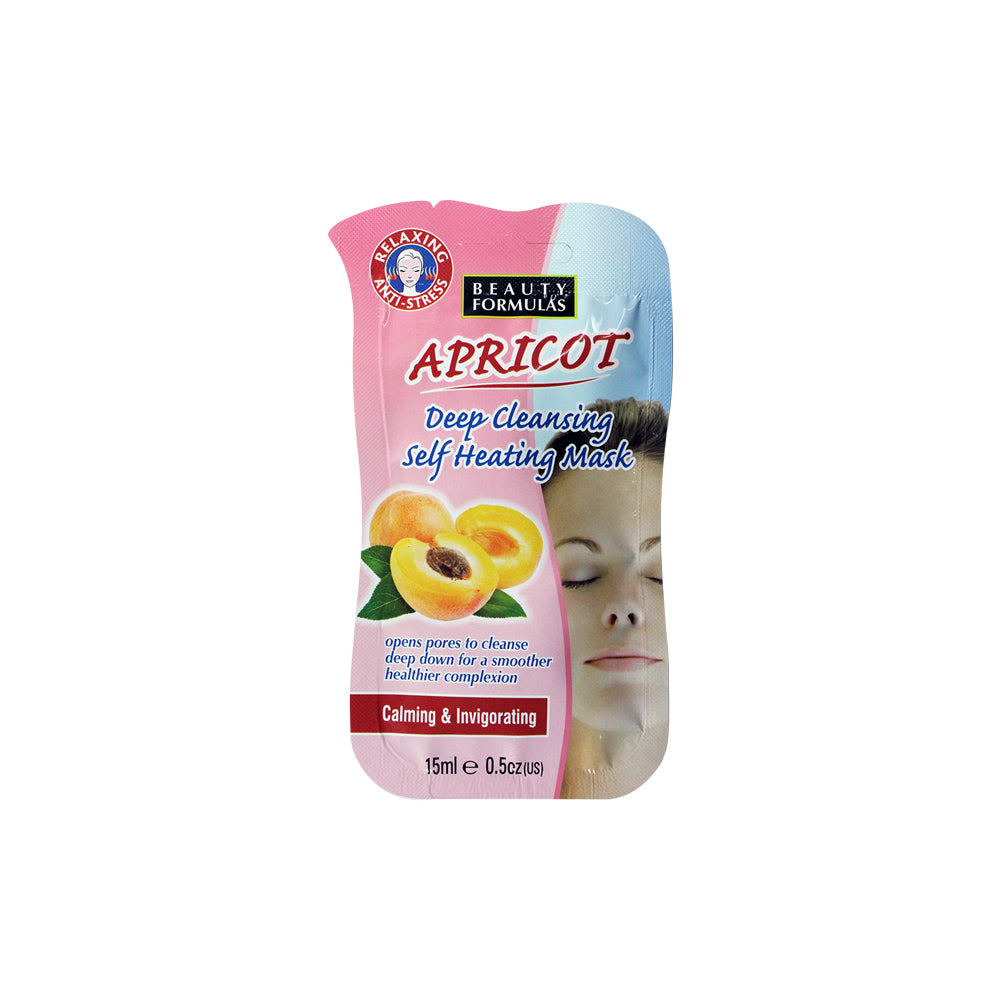 Apricot Deep Cleansing Self Heating Mask