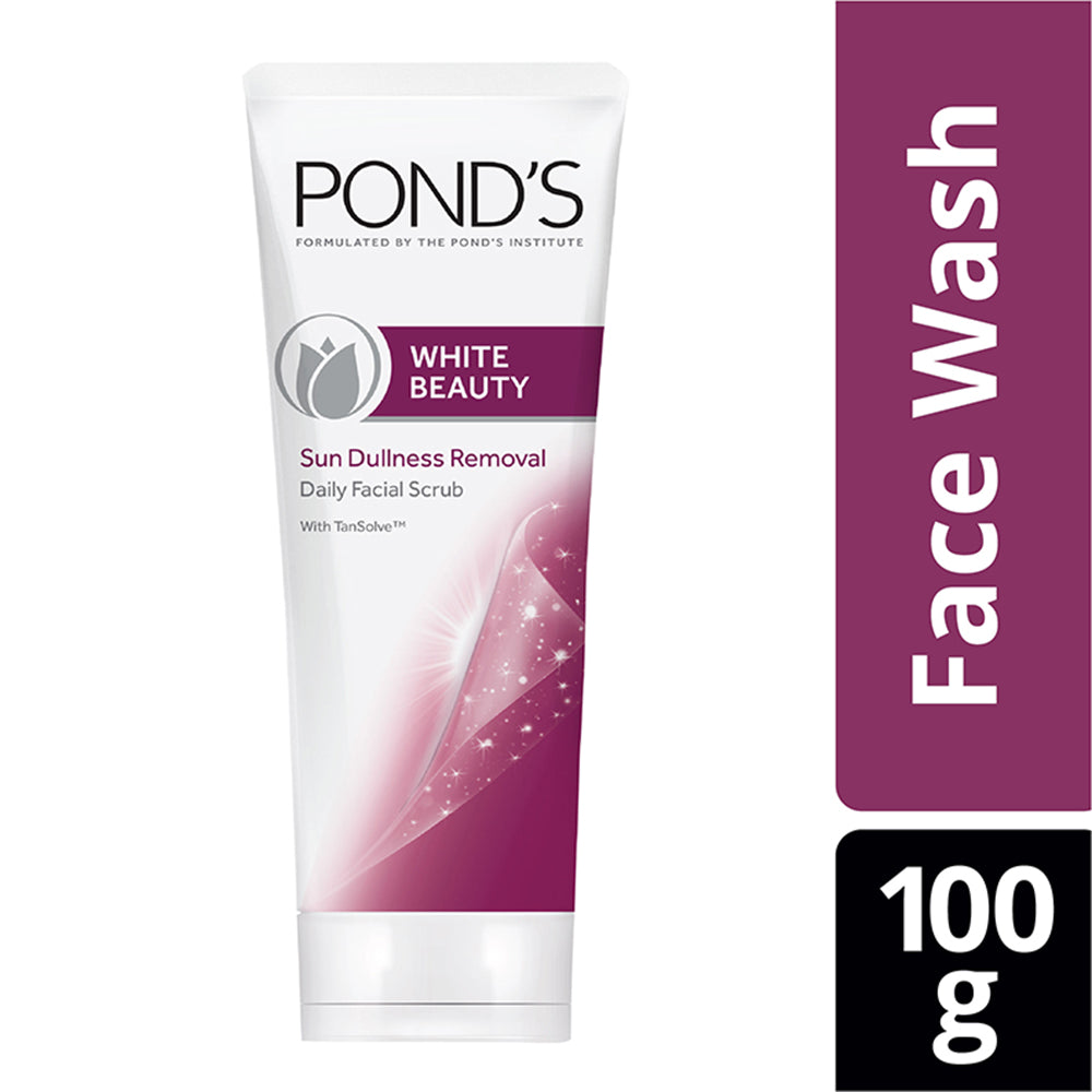 White Beauty Sun Dullness Removal Daily Facial Scrub 100 g