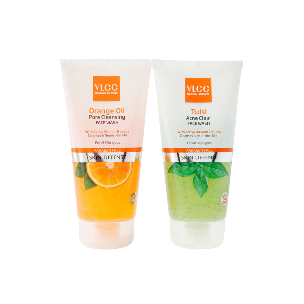 Tulsi Face Wash + Orange Oil Face Wash