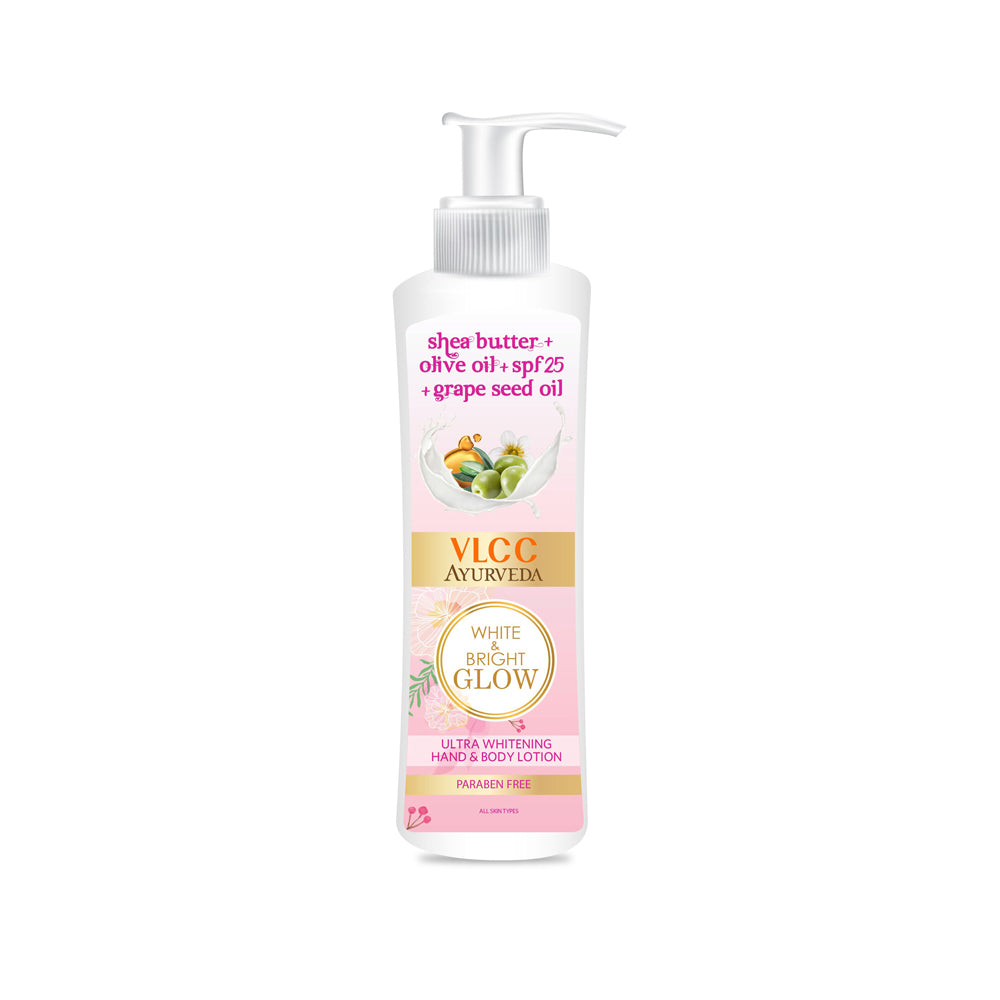 Ayurveda White & Bright Body Lotion 400ml