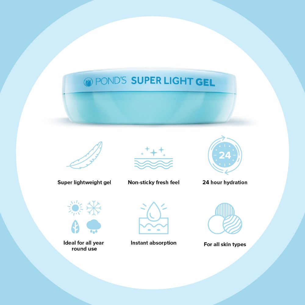 Super Light Gel Moisturiser, 147 g