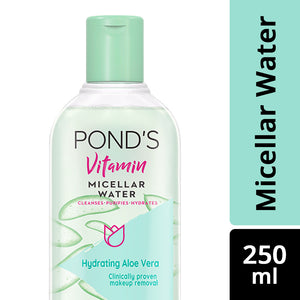Vitamin Micellar Water Hydrating Aloe Vera 250 ml