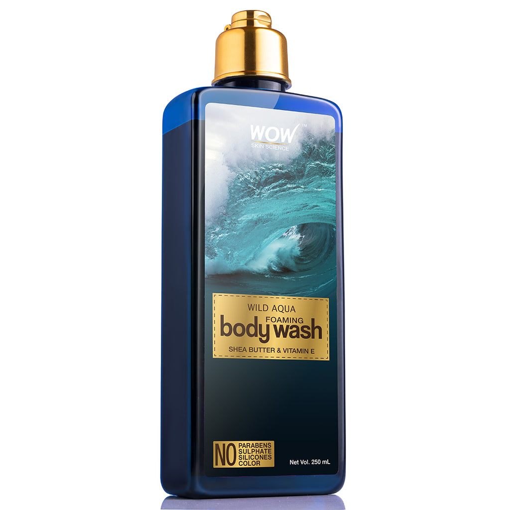 Wild Aqua Foaming Body Wash