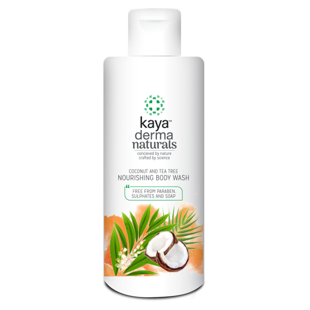 COCONUT TEA TREE NURSHNG BODY WASH240ML