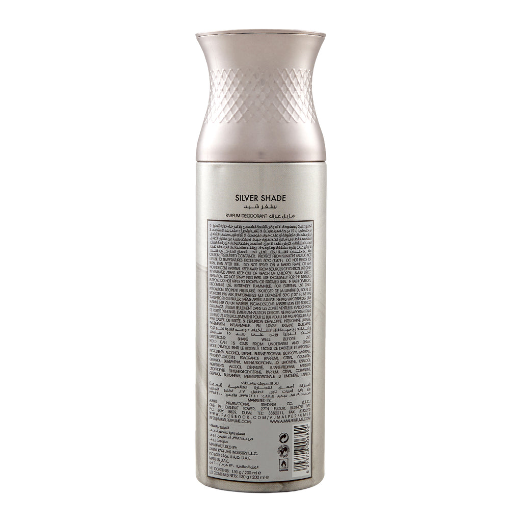 SILVER SHADE POUR HOMME PARFUM DEO 200 ML