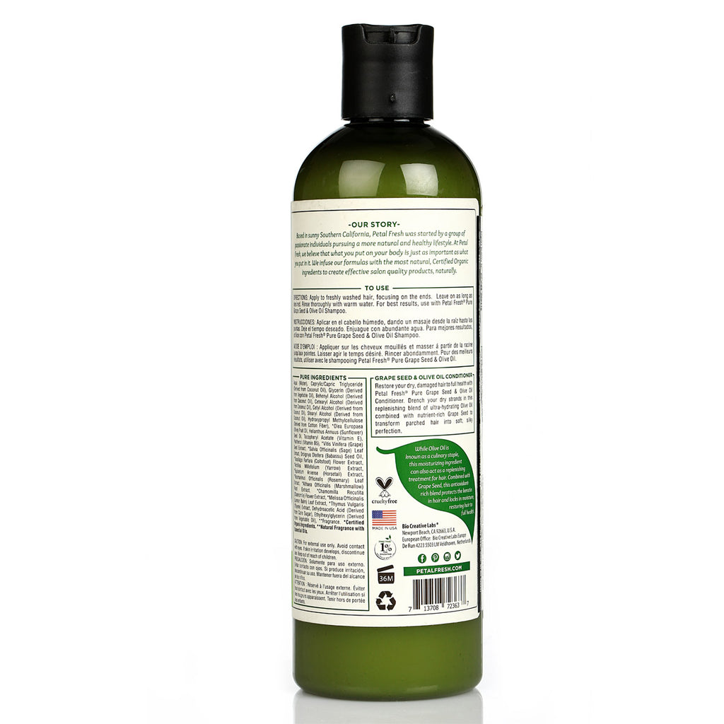 Moisturizing Grapeseed & Olive Oil Conditioner
