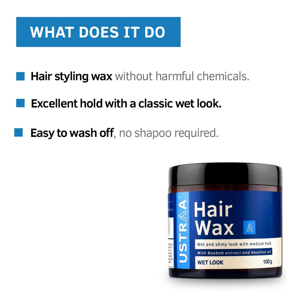Hair Wax For Wet Look