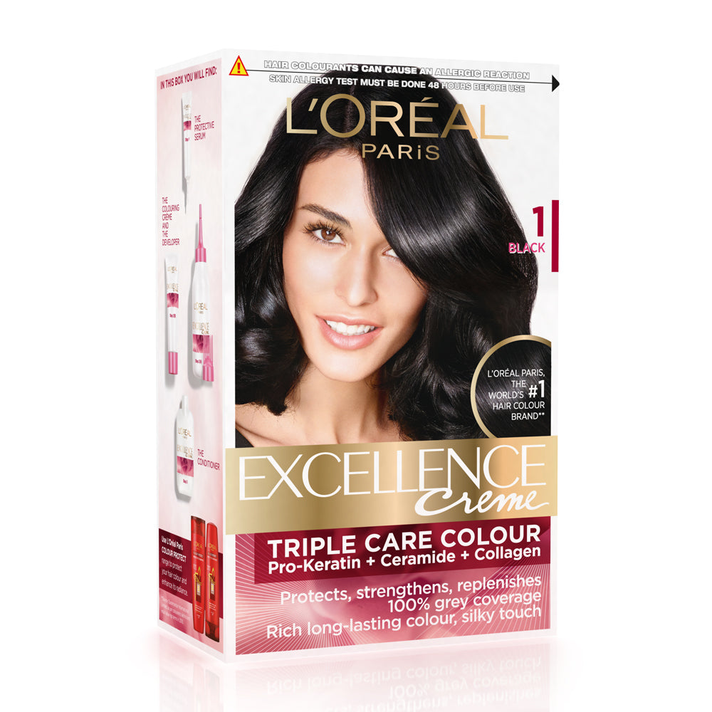 Excellence Creme Hair Color In Black