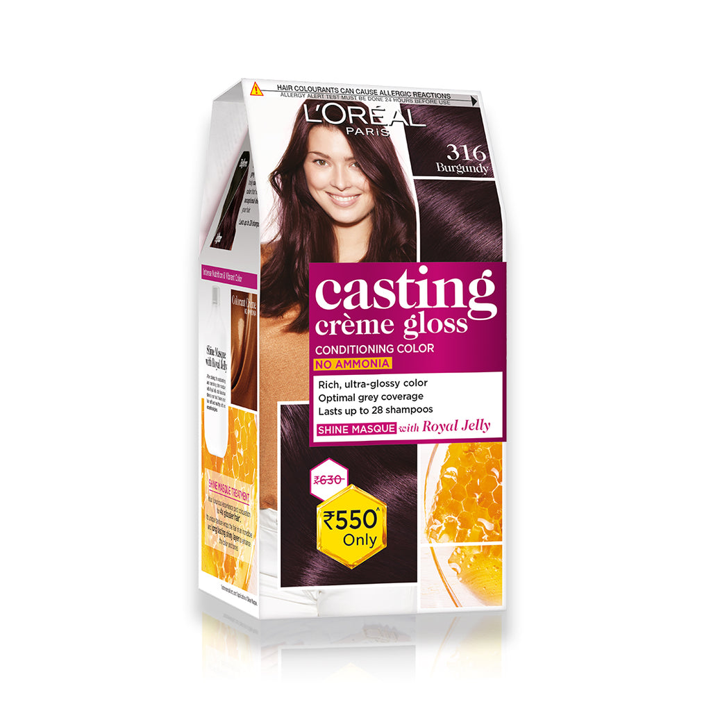 Casting Creme Gloss Hair Color In Burgundy