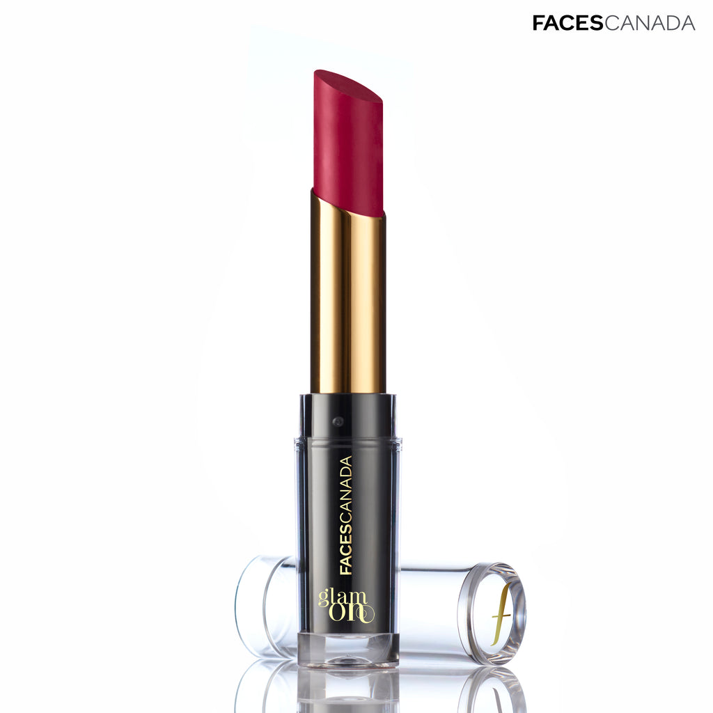 Glam On Velvet Matte Lipstick Flaming Pink 21
