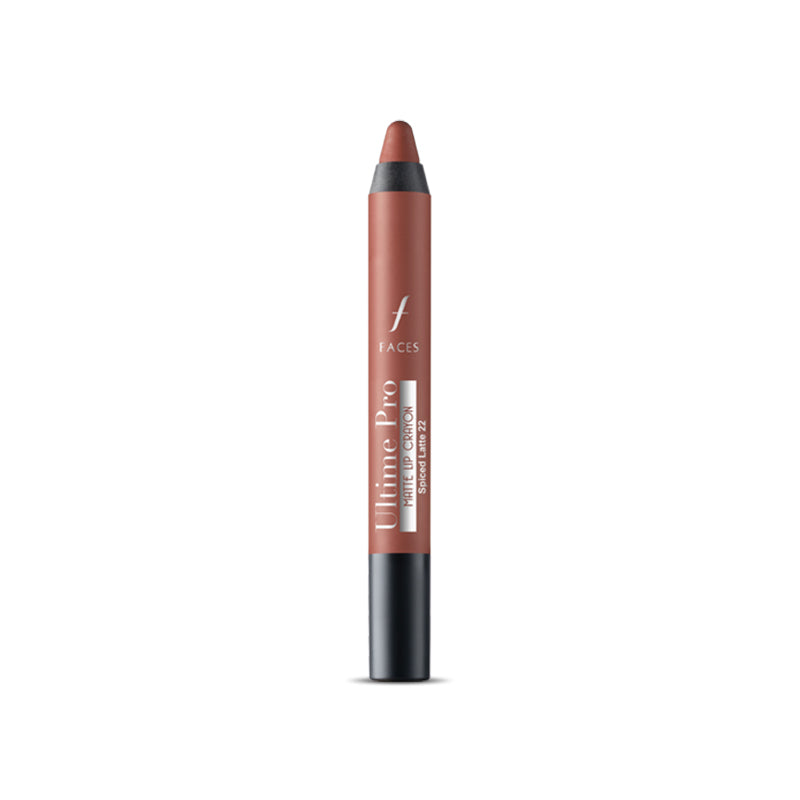 Ultime Pro Lip Crayon Matte Spiced Latte 22 2.8 g With Free Sharpener