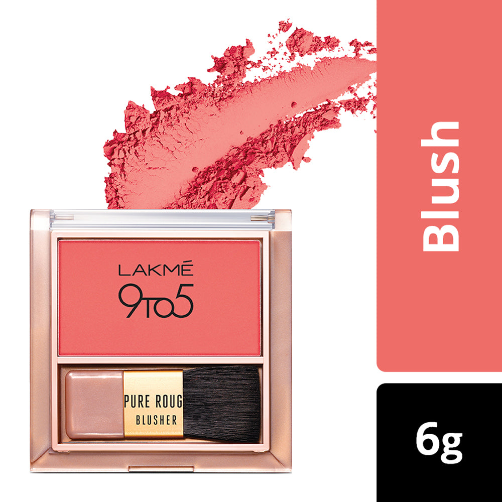 9 To 5 Pure Rouge Blusher, Coral Punch, 6 g