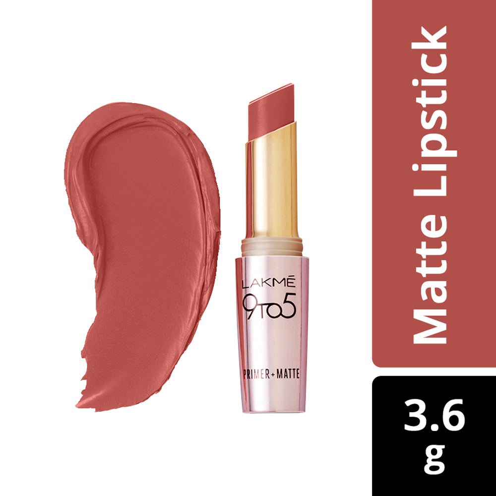 9 to 5 Primer + Matte Lip Color LC R2 Maple Map 3.6gm