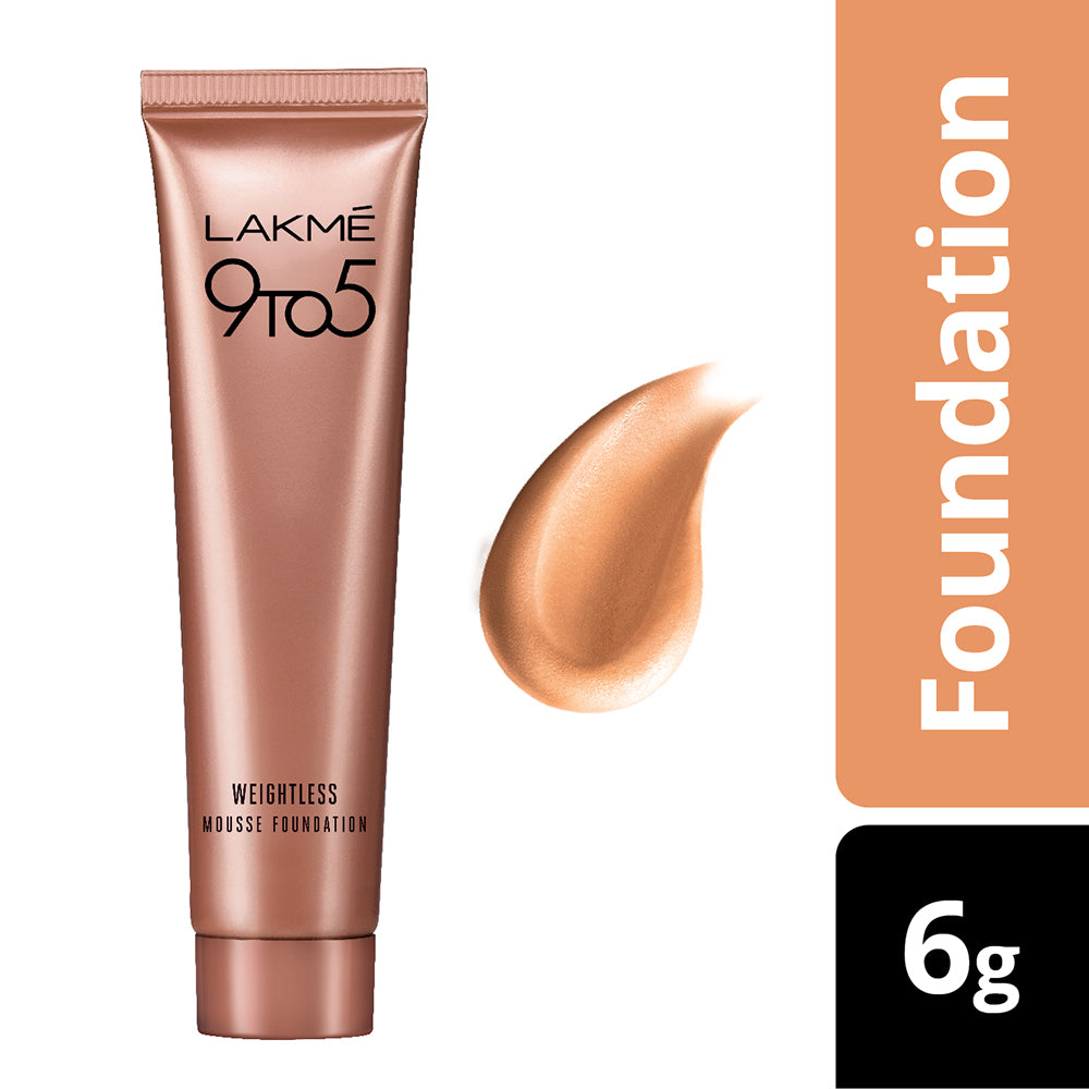 9 to 5 Weightless Mousse Foundation, Rose Ivory, 6 g