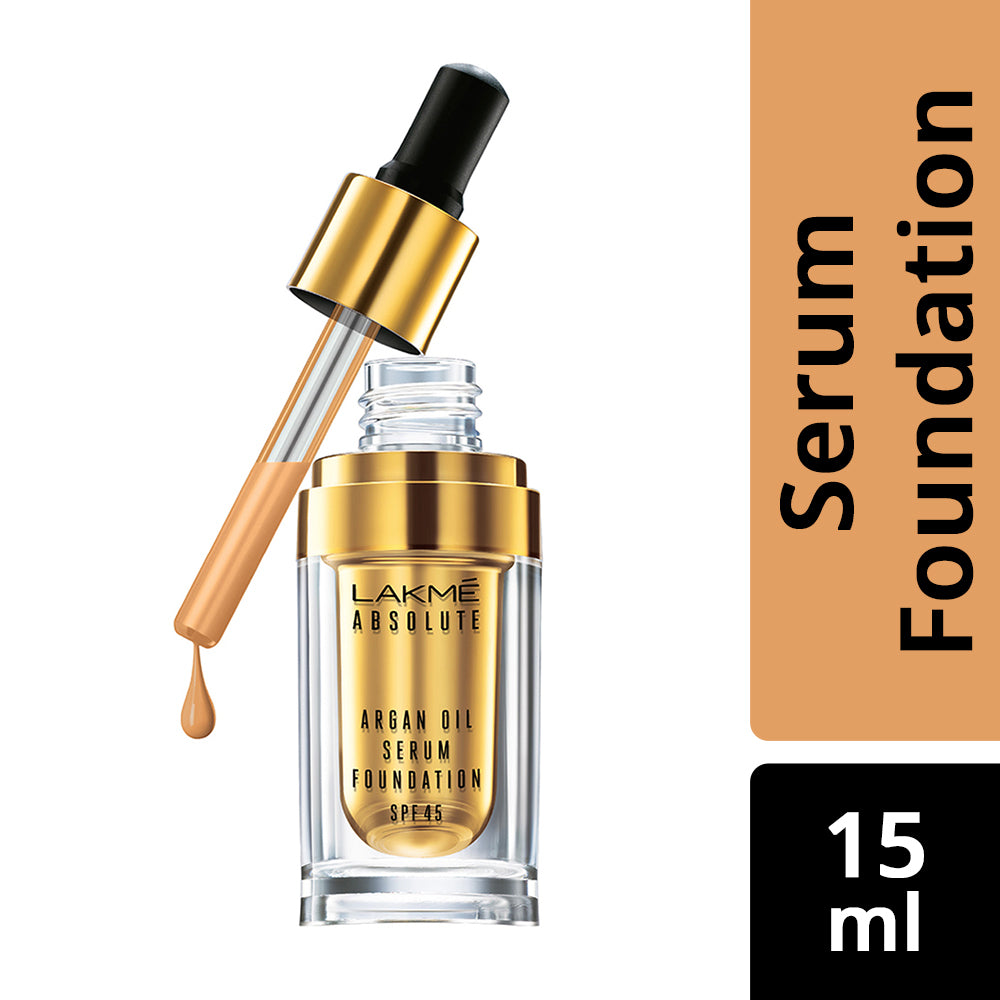 Absolute Argan Oil Serum Foundation with SPF 45 Ivory Cream 15ml
