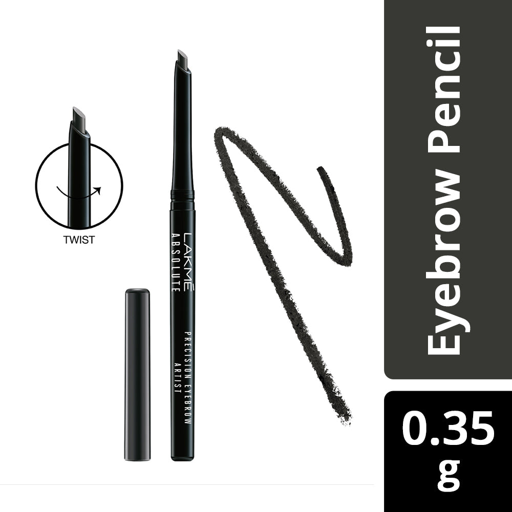 Absolute Precision Eye Artist Eyebrow Pencil Natural Black 0.35gm