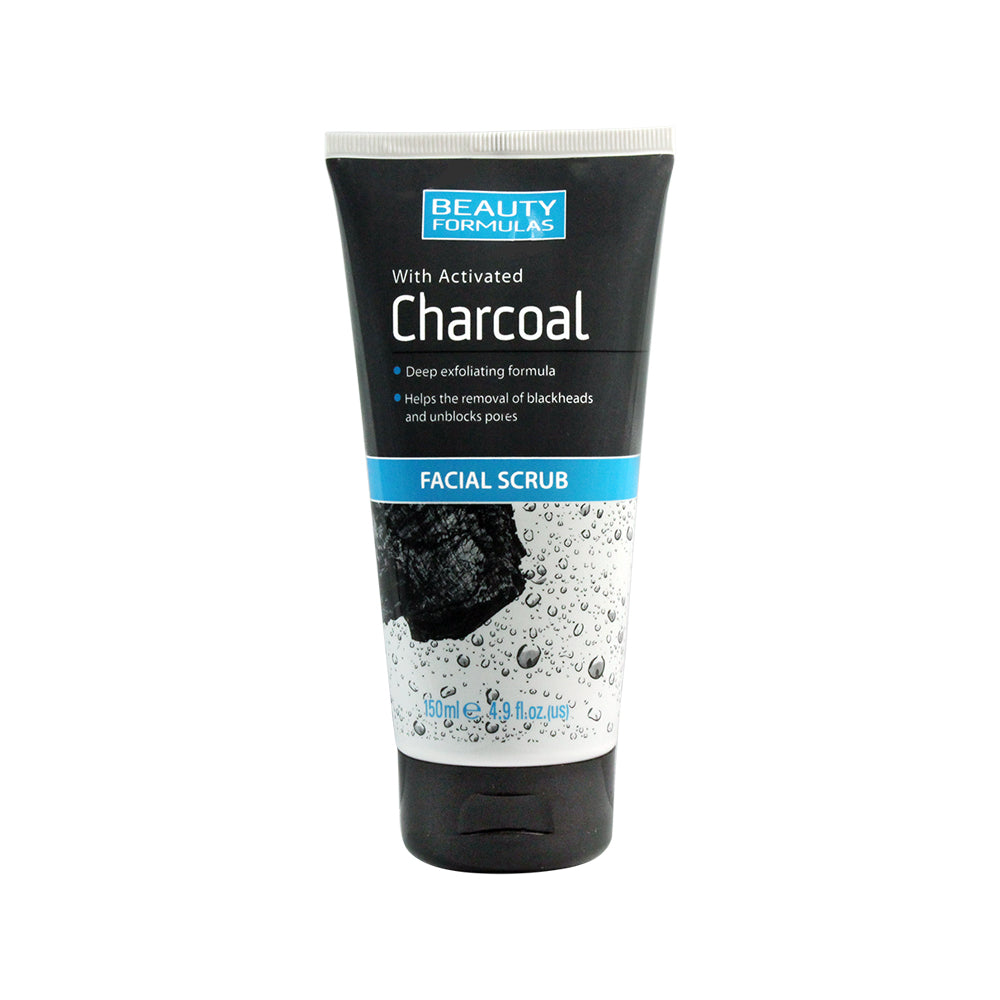 Activated Charcoal Facial Scrub 150ML