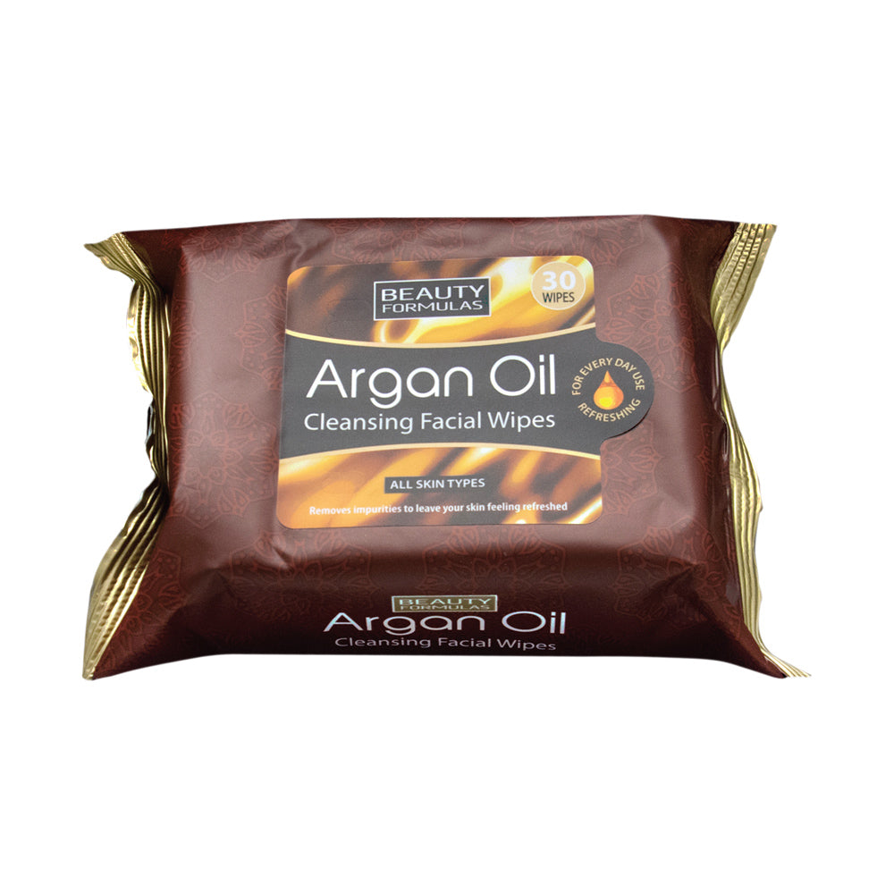 Argan Oil Cleansing Facial Wipes 30s