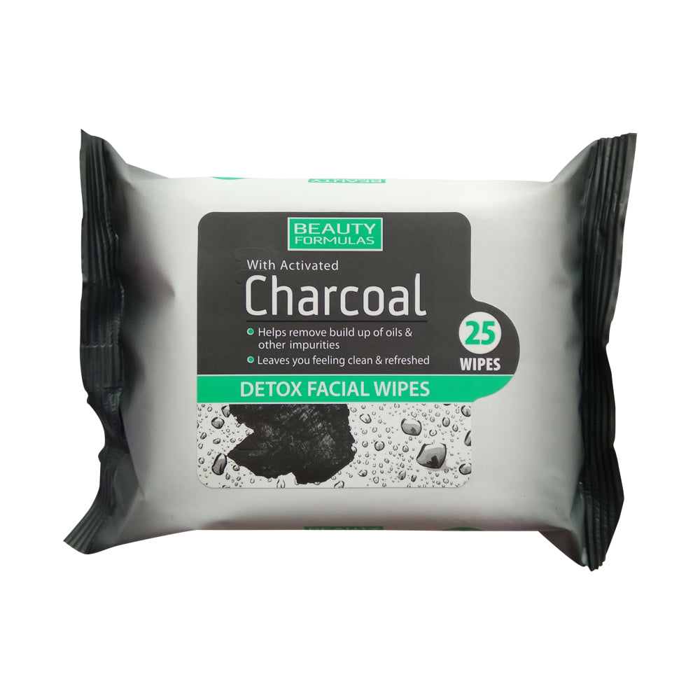 Charcoal Detox Facial Wipes  25'S