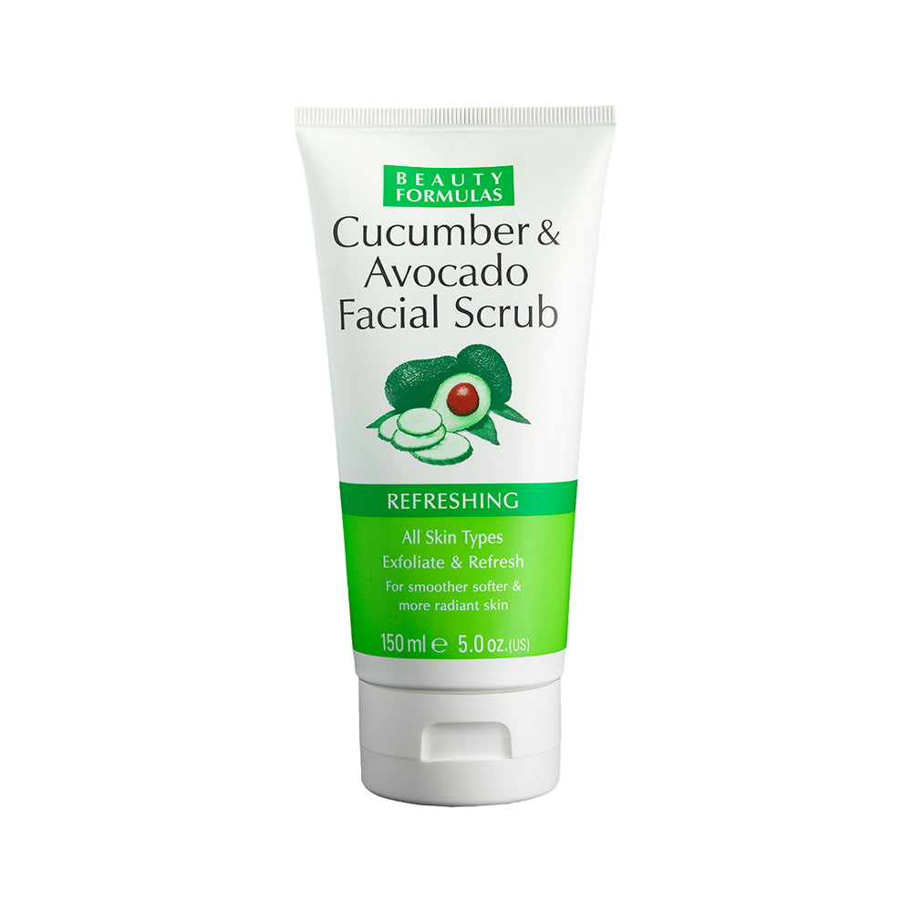 Cucumber and Avocado Facial Scrub 150ml