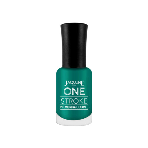 One Stroke Premium Nail Enamel Steal Teal #J34 8ML