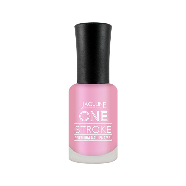 One Stroke Premium Nail Enamel Strawbery Smoothie # J09 8ML