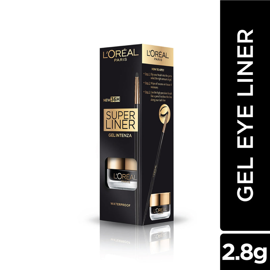 Super Liner Gel Intenza Eyeliner, Profound Black, 2.8g