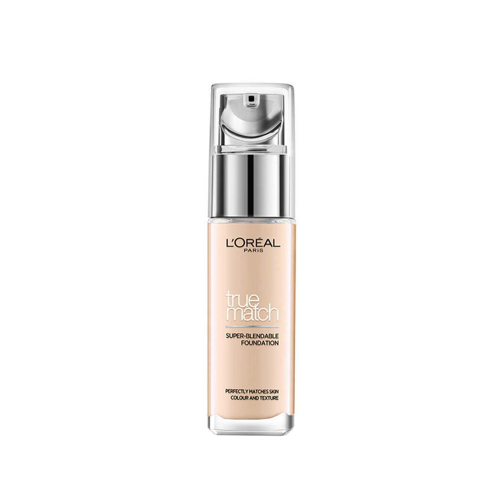 True Match Super Blendable Liquid Foundation Ivory 1N, 30ml