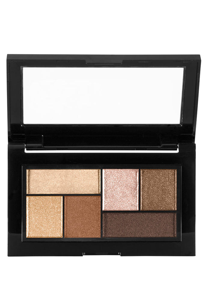 City Mini Eyeshadow Palette, Rooftop Bronze