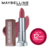 Color Sensational Creamy Matte Lipstick, 660 Touch of Spice, 3.9g