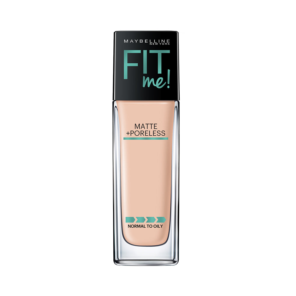 Fit Me Matte+Poreless Liquid Foundation, 115 Ivory, 30ml
