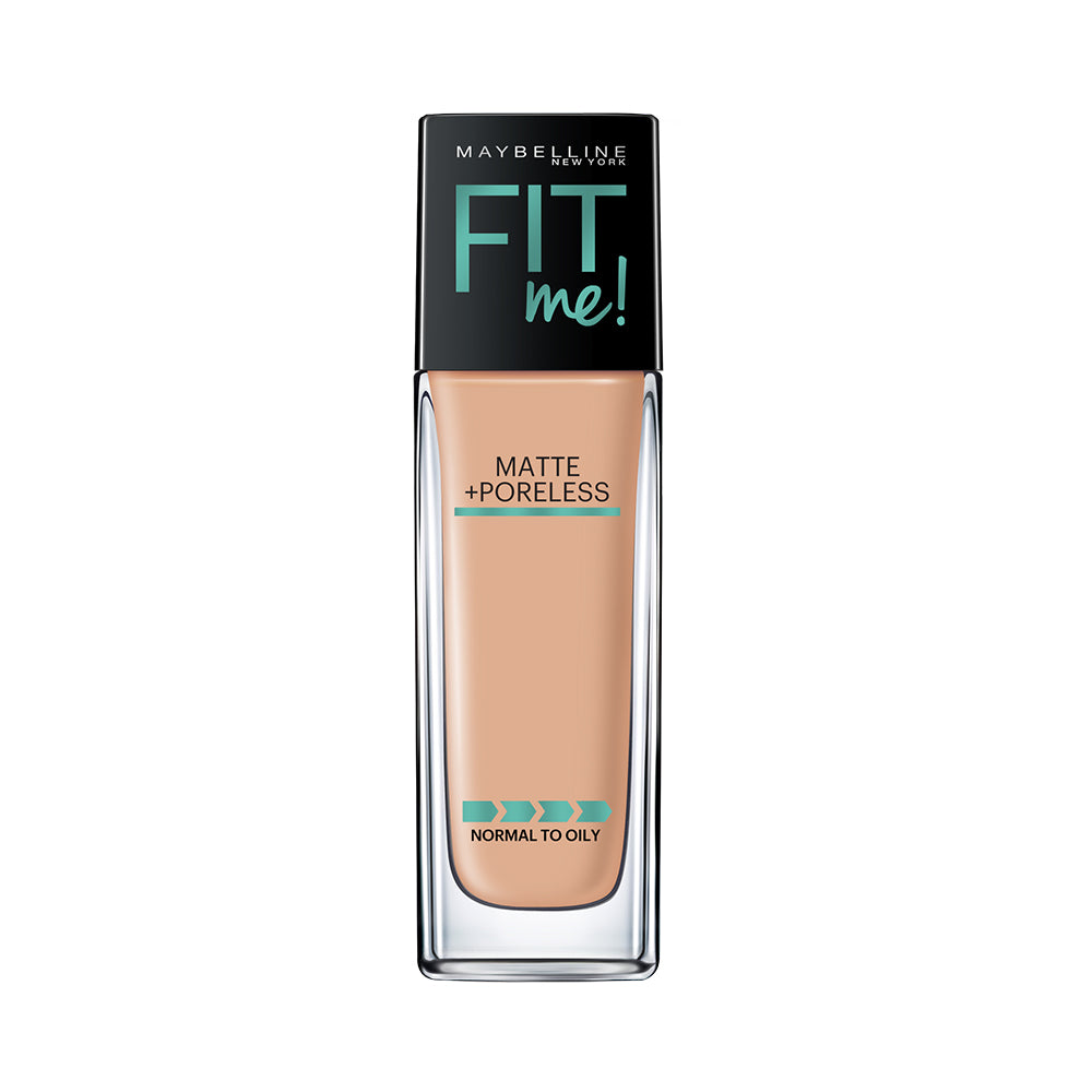 Fit Me Matte+Poreless Liquid Foundation, 220 Natural Beige, 30ml