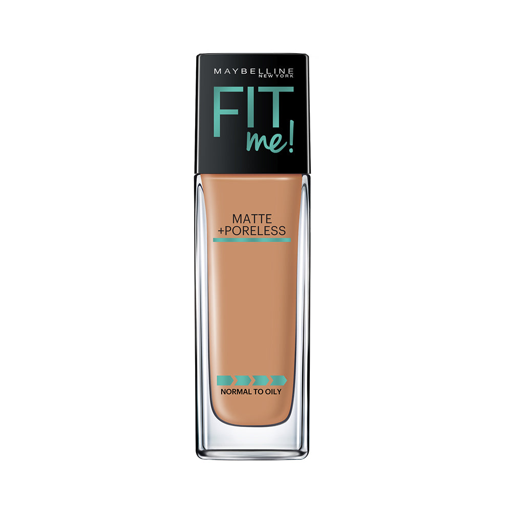 Fit Me Matte+Poreless Liquid Foundation, 330 Toffee, 30ml