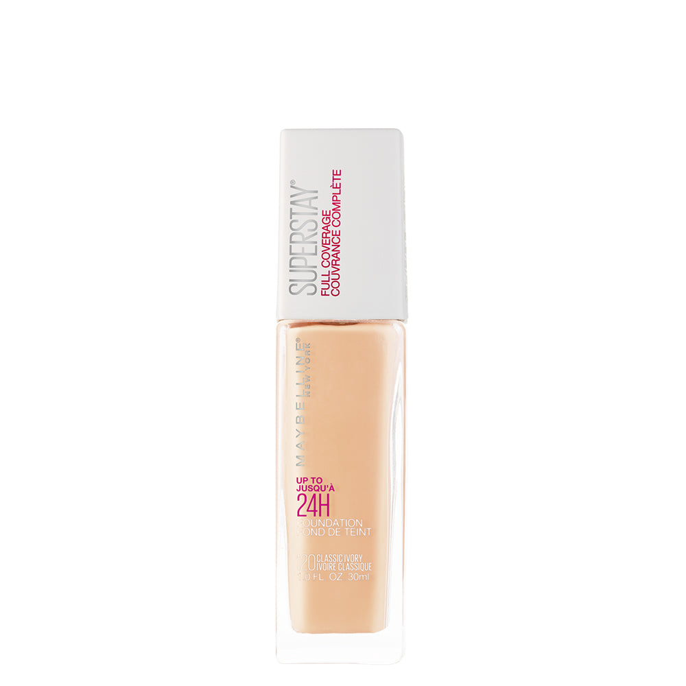 Super Stay 24H Full coverage Liquid Foundation,Classic Ivory 120