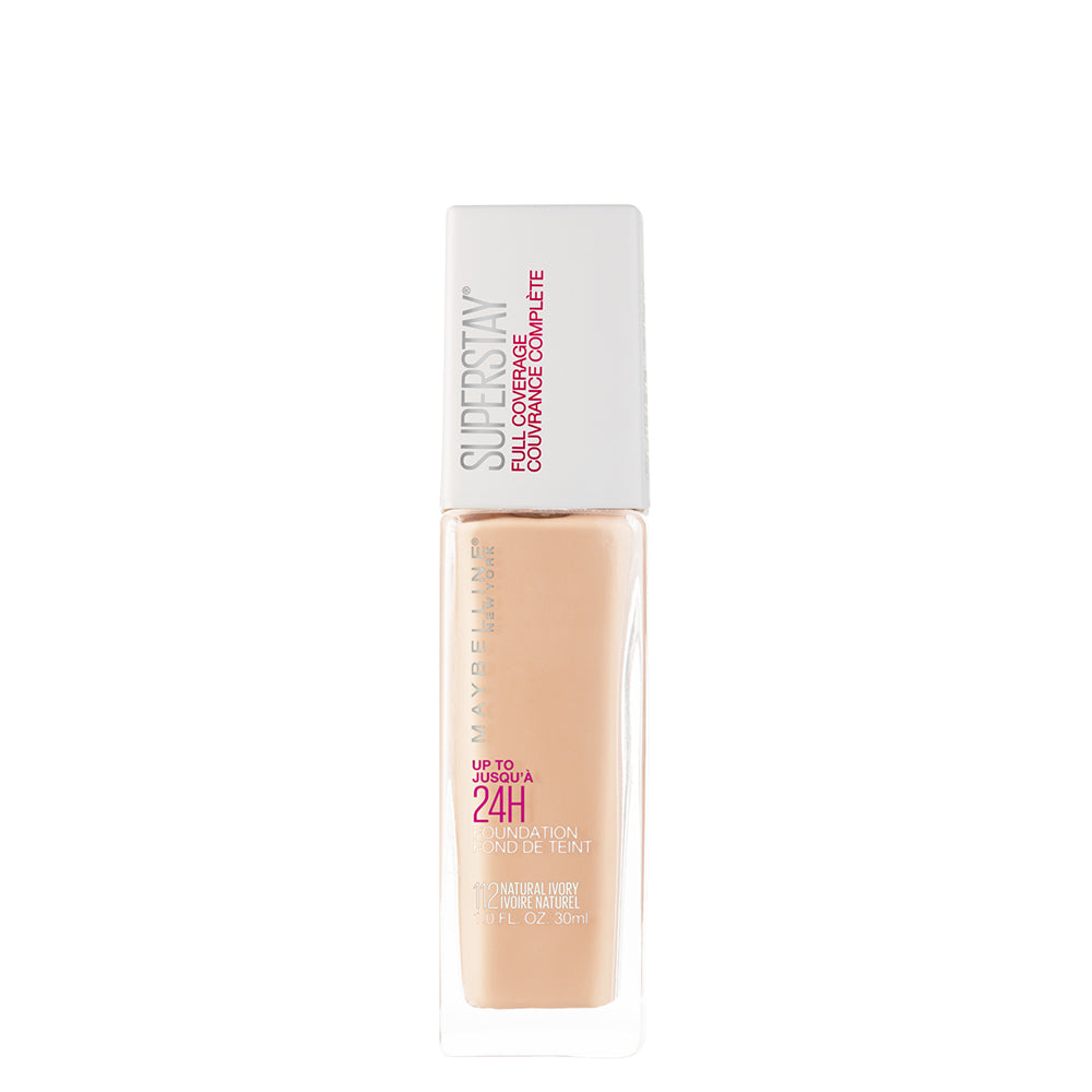 Super Stay 24H Full coverage Liquid Foundation,Natural Ivory 112