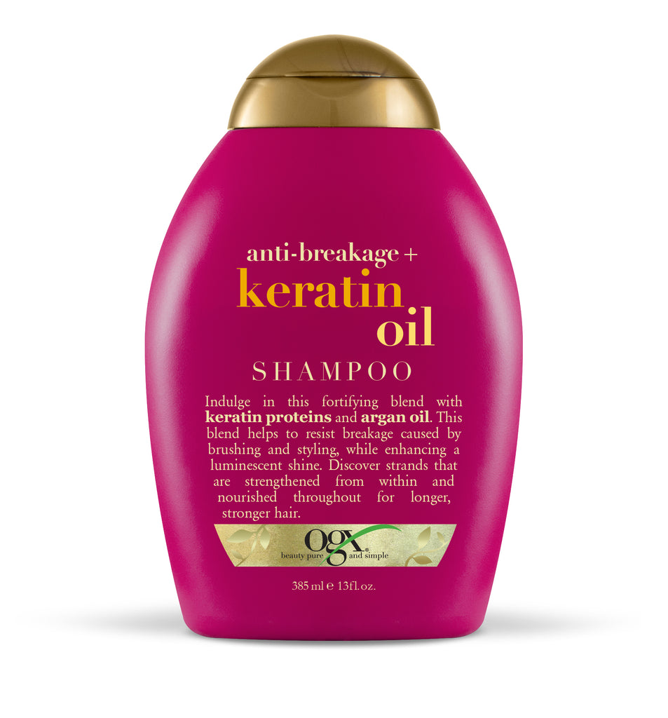 Anti Break Keratin Oil Shampoo 385ml